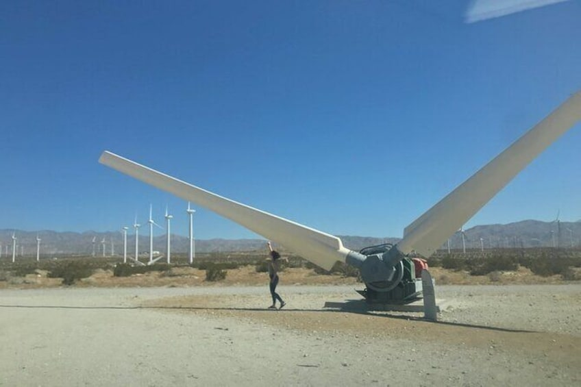 Show item 2 of 7. Palm Springs Windmill Tours self-driving tours interactive, safe & fun.