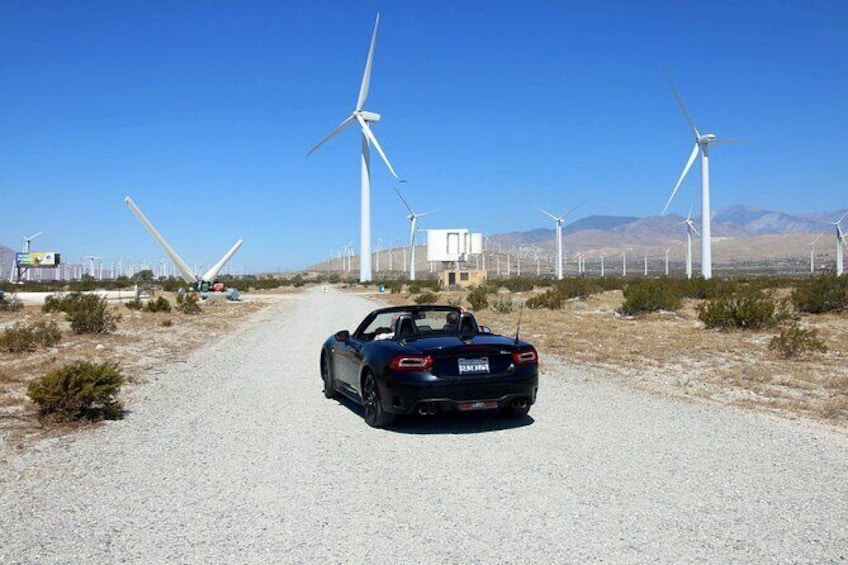 Show item 1 of 7. Palm Springs Windmill Tours self-driving tours interactive, safe & fun.