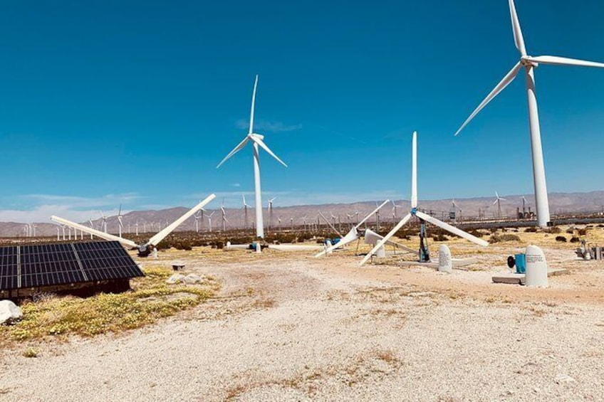 Show item 5 of 10. Palm Springs Windmill Tours self-driving tours interactive, safe & fun.