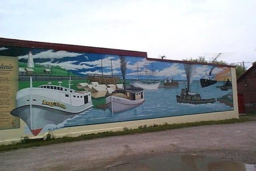 Show item 2 of 2. Port Burwell Mural