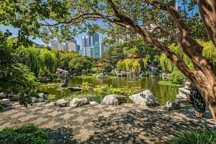 Show item 2 of 13. Chinese Garden landscape