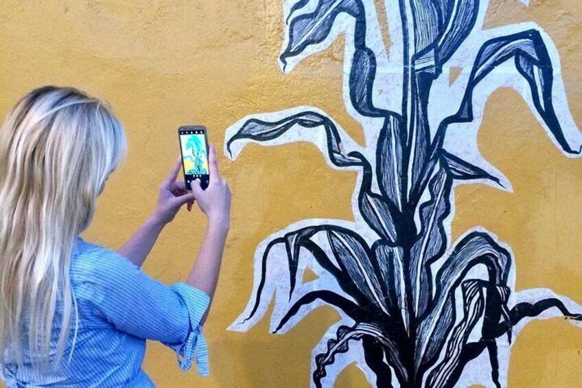 Show item 2 of 10. Oaxaca Private Street Art Tour