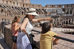 Private Rome Tour with kids: Colosseum and Forum