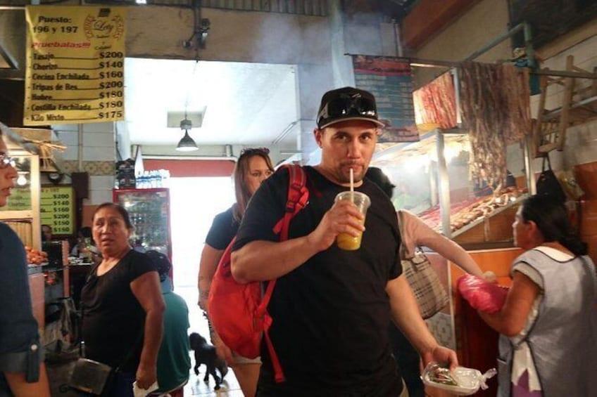Show item 3 of 20. Oaxaca Street Food Tour