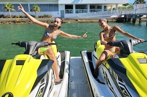 1 Hour 30 Minutes Miami Vice Jet Ski Tour for 18 Miles