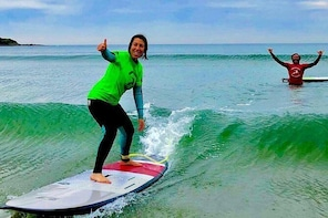 Beginners Surfing Lesson