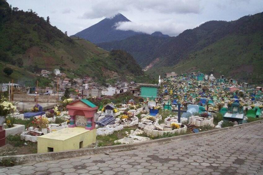 Show item 5 of 7. Fuentes Georginas Hot Springs from Quetzaltenango
