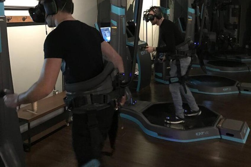 Show item 3 of 7. Standard VR Walking Experience
