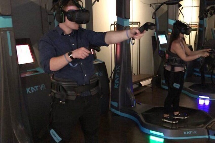 Show item 2 of 7. Standard VR Walking Experience