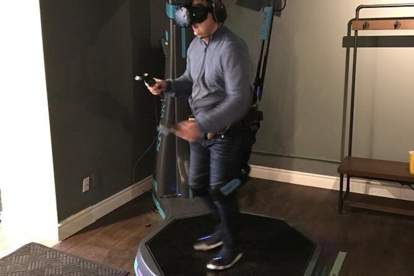 Show item 7 of 7. Standard VR Walking Experience