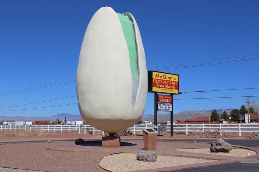 Show item 2 of 7. The World's Largest Pistachio.