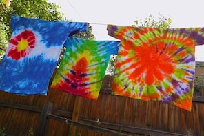 Tie-Dye Friday Art Class in Estes Park