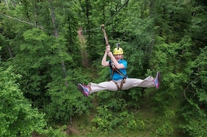 10 Zip Line Zip Tour (1.5 hours)