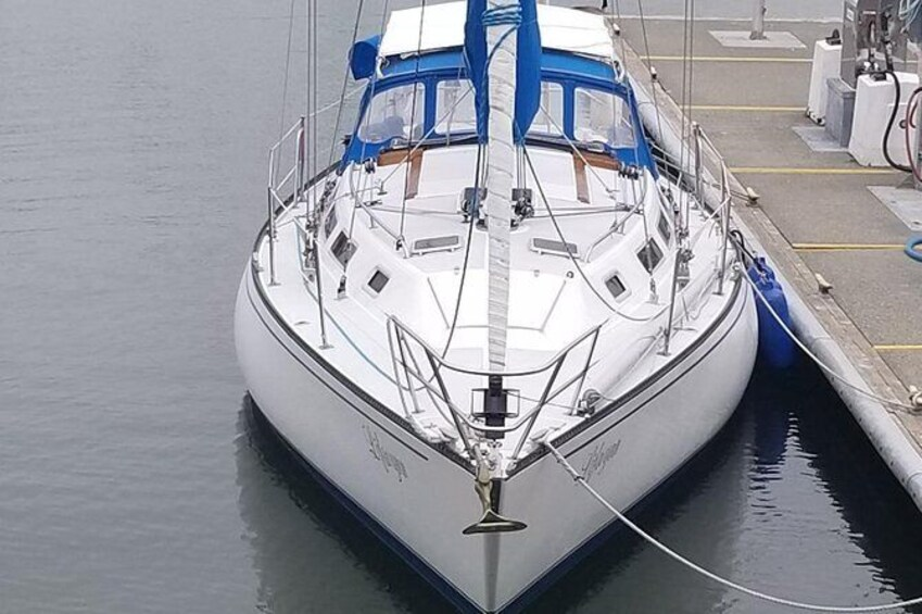 Show item 2 of 10. Sailing Adventures On a Classic 38' Yacht in the Heart of the Columbia Gorge