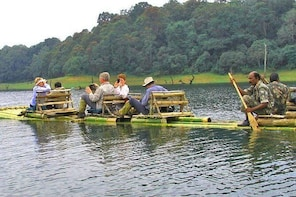 Full day Trekking and Bamboo Rafting at Periyar Forest