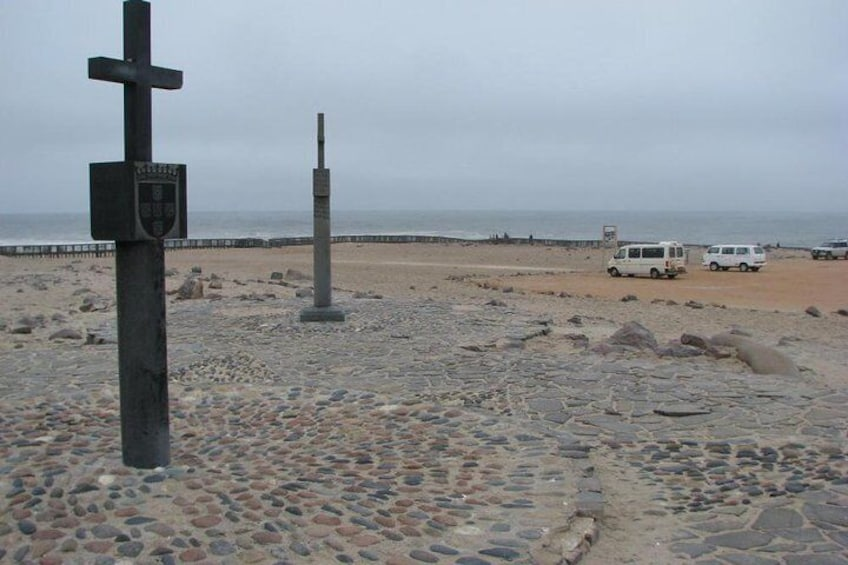 """Show item 4 of 10. """"Padrao"""", Stone Cross at Cape Cross"""