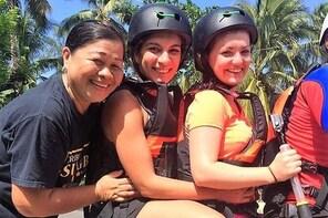 Day Tour in Moalboal Turtles, sardines and Kawasan Falls