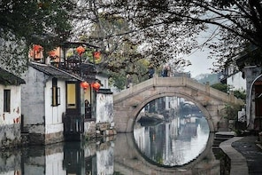 Suzhou & Zhouzhuang Water Town Group Day Tour from Shanghai