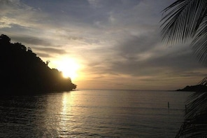 Night dive from the beach (start at Koh Mak)