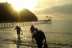 Night dive from the beach ( Start at Ko Kut)