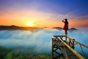 Panguk Sunrise & Jomblang Cave Tour from Yogyakarta