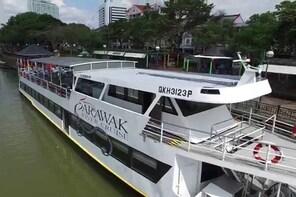Sarawak Sunset River Cruise Tour from Kuching