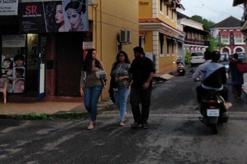 Show item 2 of 13. Fontainhas Heritage Walk in Panaji