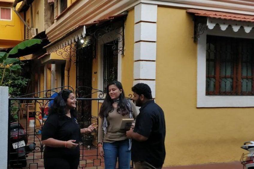 Show item 1 of 13. Fontainhas Heritage Walk in Panaji