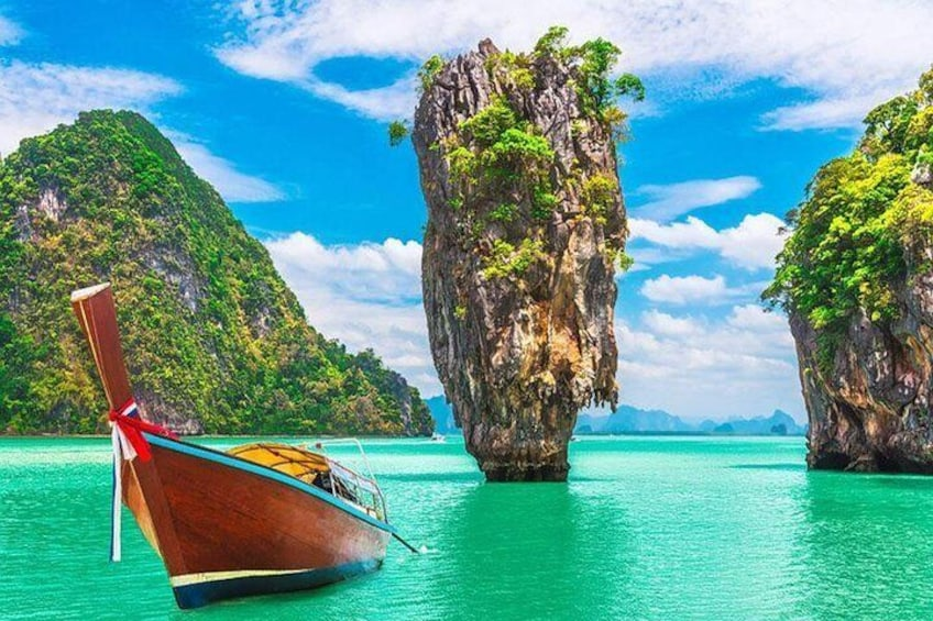 James Bond Island by Longtail Boat