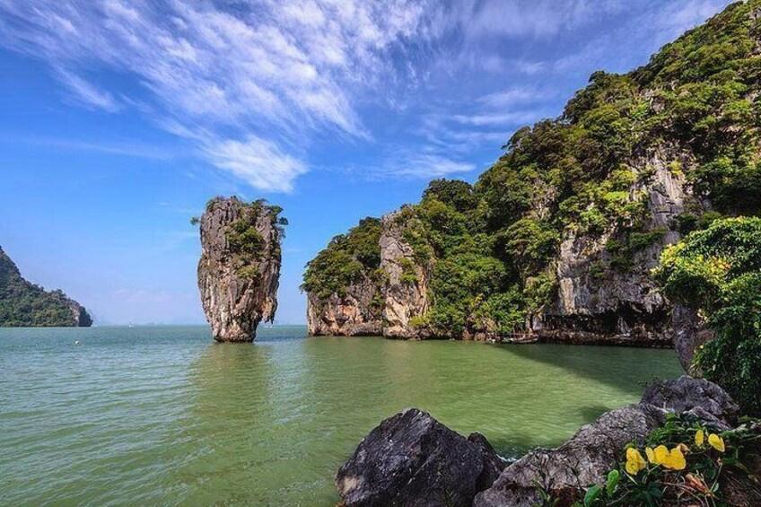 Private Boat Phi Phi + Phang Nga Bay