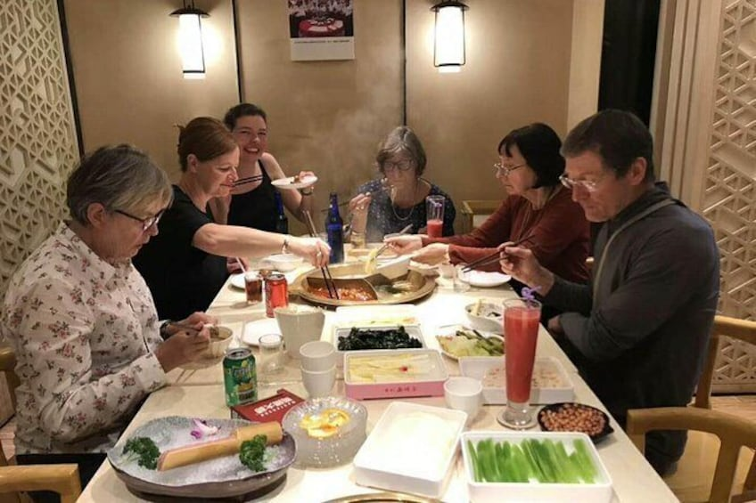 Show item 10 of 10. Hot hot Chengdu foodie tour very popular food with guide