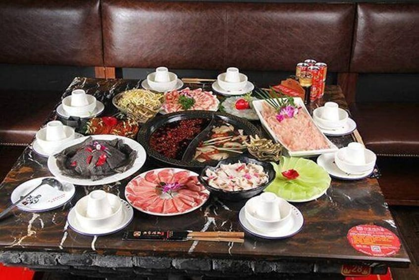 Show item 3 of 10. Hot hot Chengdu foodie tour very popular food with guide