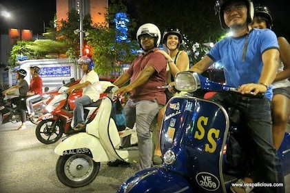 Cooler Lumpur by Night Vespa Food Tour by Vespalicious