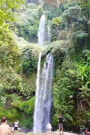 Amazing Two Waterfalls ( Sendang Gile and Tiu Kelep ) Trip