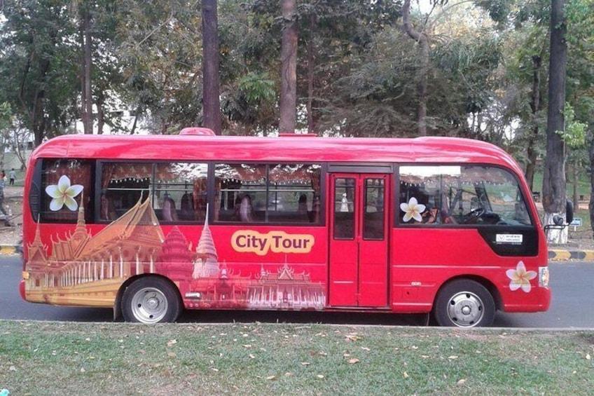 Air-condition tour bus