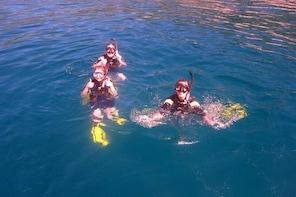 Snorkelling at Hon Mun island