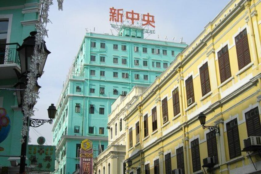 Show item 2 of 5. Hotel Central an 11-storey building situated along Avenida de Almeida Ribeiro. Constructed in 1928, Hotel Central was 1st modern Casino in Macau