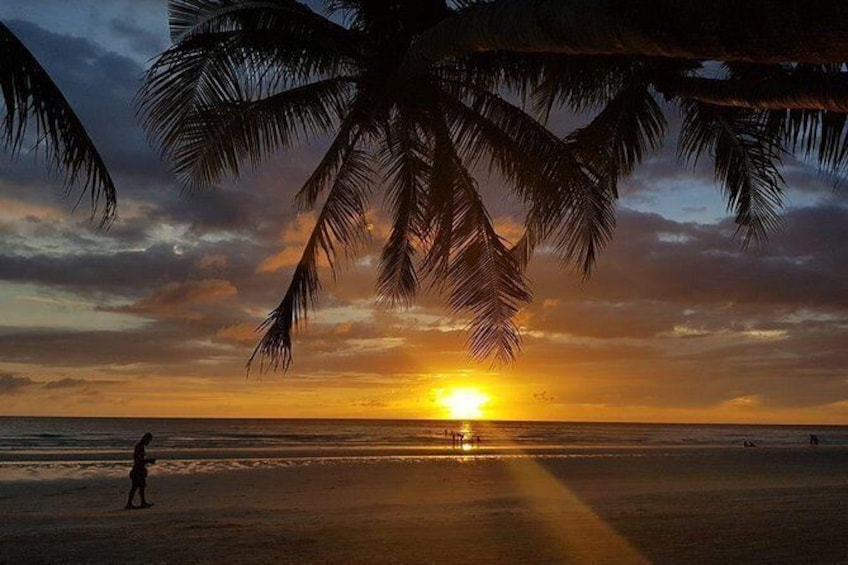 Show item 3 of 7. The famous Boracay Sunset