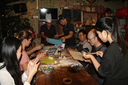 Making Dumplings with Locals