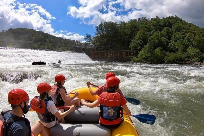 Show item 2 of 12. Middle Ocoee River Rafting Trip