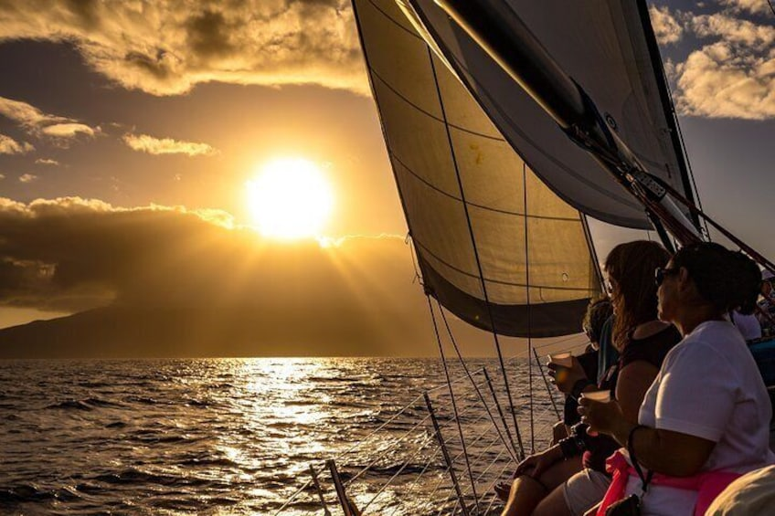 Champagne Sunset Sail from Lahaina Harbor