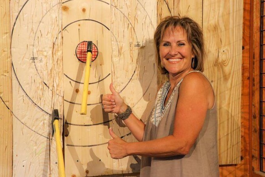 Show item 1 of 10. Axe Throwing