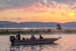 Sports fishing for walleye, salmon and steelhead
