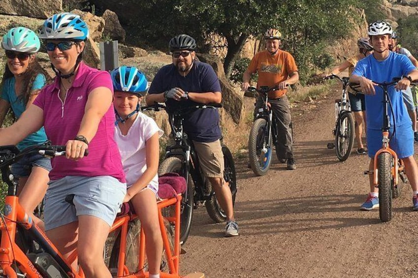 """Show item 1 of 10. 2 Hour Ebike Ride at """"The Peavine Trail"""" (POPULAR )"""