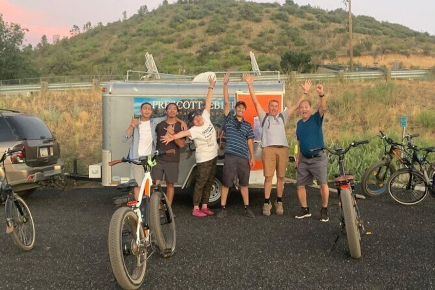 """Show item 2 of 10. 2 Hour Ebike Ride at """"The Peavine Trail"""" (POPULAR )"""