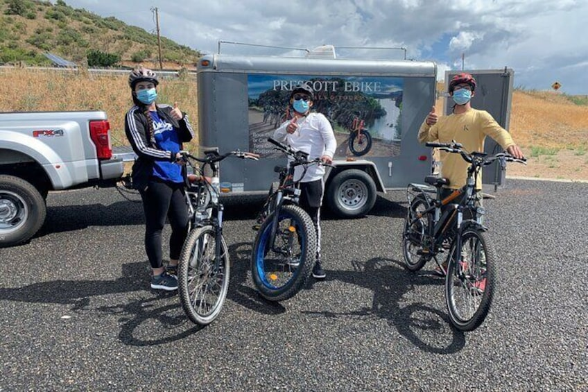 """Show item 10 of 10. 2 Hour Ebike Ride at """"The Peavine Trail"""" (POPULAR )"""