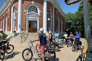 Ride an electric bicycle for a Historical Tour in Aiken