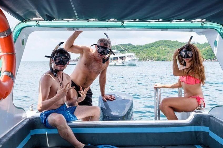 Cable Car, Aquatopia Water Park & 4 Islands Trip By Speed Boat