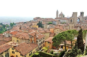 """Highlights of Bergamo Upper Town Private Walking Tour with Old """"Funico..."""