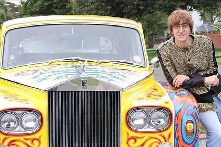 251 Menlove Avenue with Javier Paraisi (The John Lennon Impersonator).